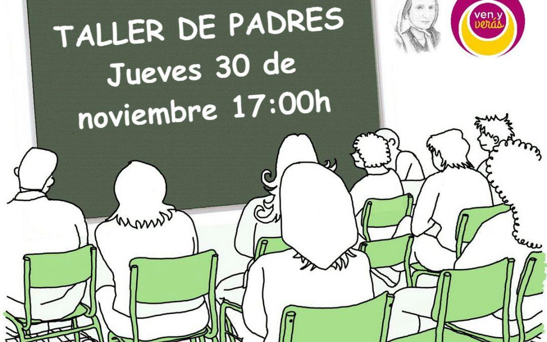 Taller de Padres organizado por AMPA «Mamá Margarita»