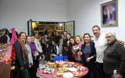 Merienda de Navidad organizada por el AMPA