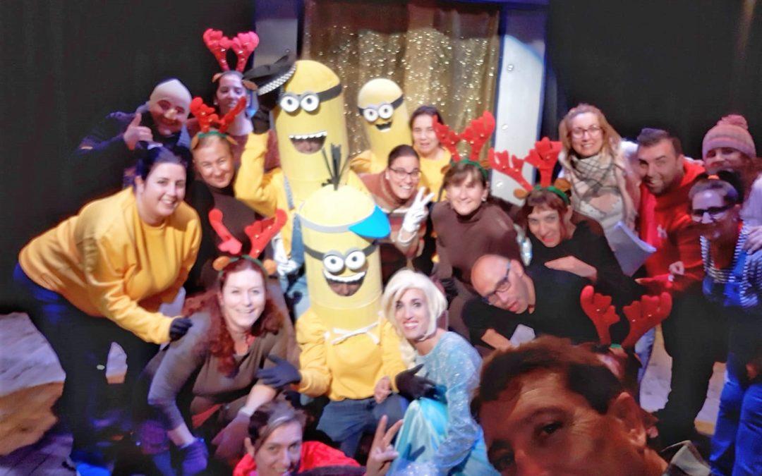 """Taller de teatro de familias y profesores presenta """"La fábrica de juguetes de la Navidad"""""""