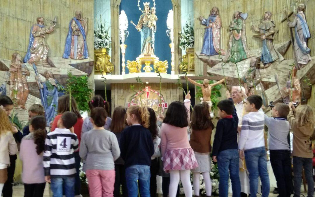 Los más pequeños de nuestra Catequesis participaron de la Eucaristía en familia