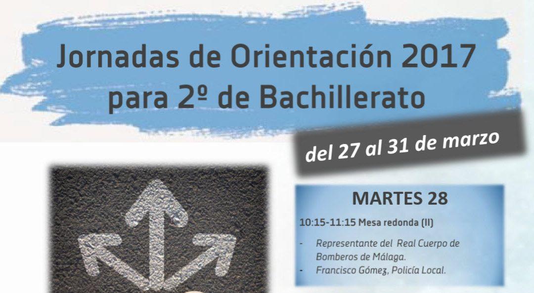 Comienzan las Jornadas de Orientación para 2º de Bachillerato