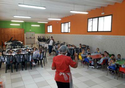 Visita al comedor escolar