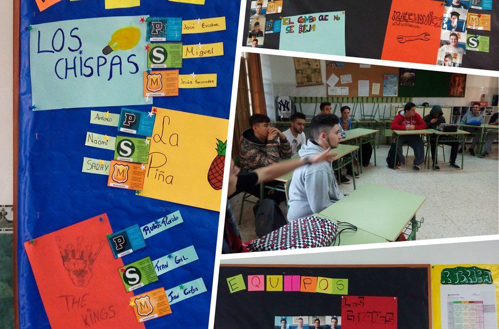 Los alumnos de FPB trabajan en Cooperativo