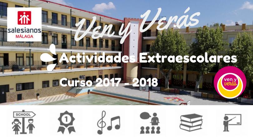 Actividades Extraescolares curso 2017-2018