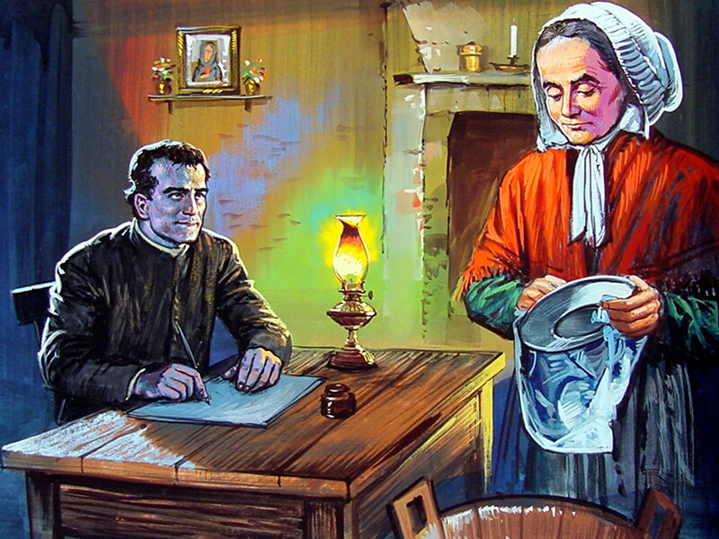 Mamá Margarita, la madre de Don Bosco