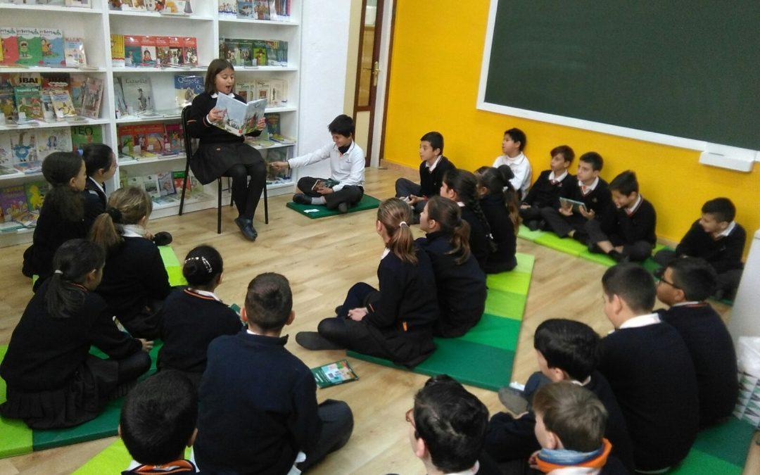 Biblioteca Escolar, espacio donde los alumnos son los protagonistas