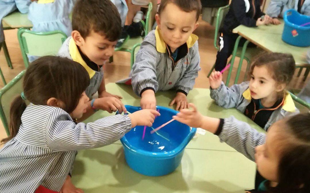 """Por una Infantil más experimental: """"La creatividad es la inteligencia divirtiéndose"""""""