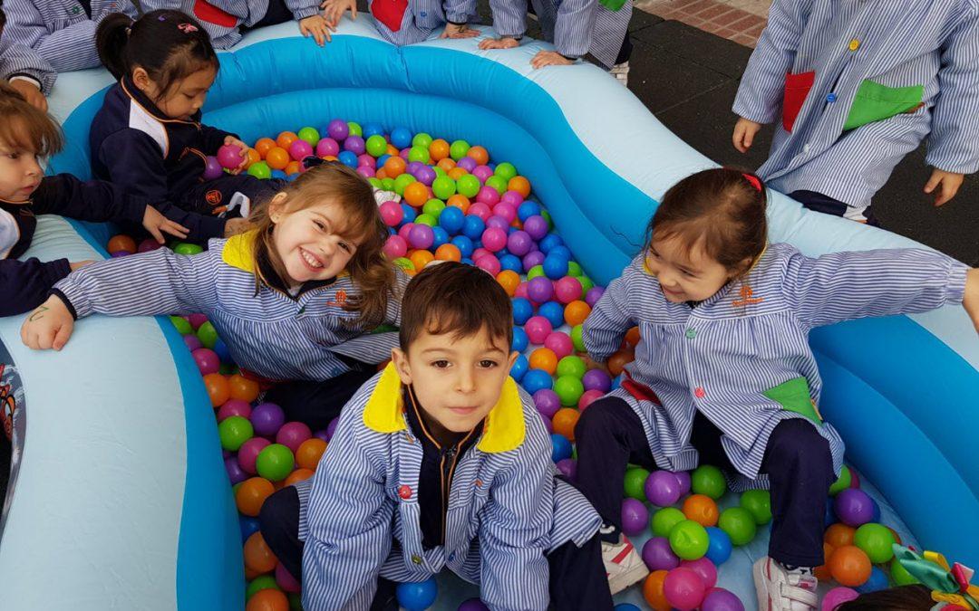 Enero, mes de Don Bosco: Recreos en infantil