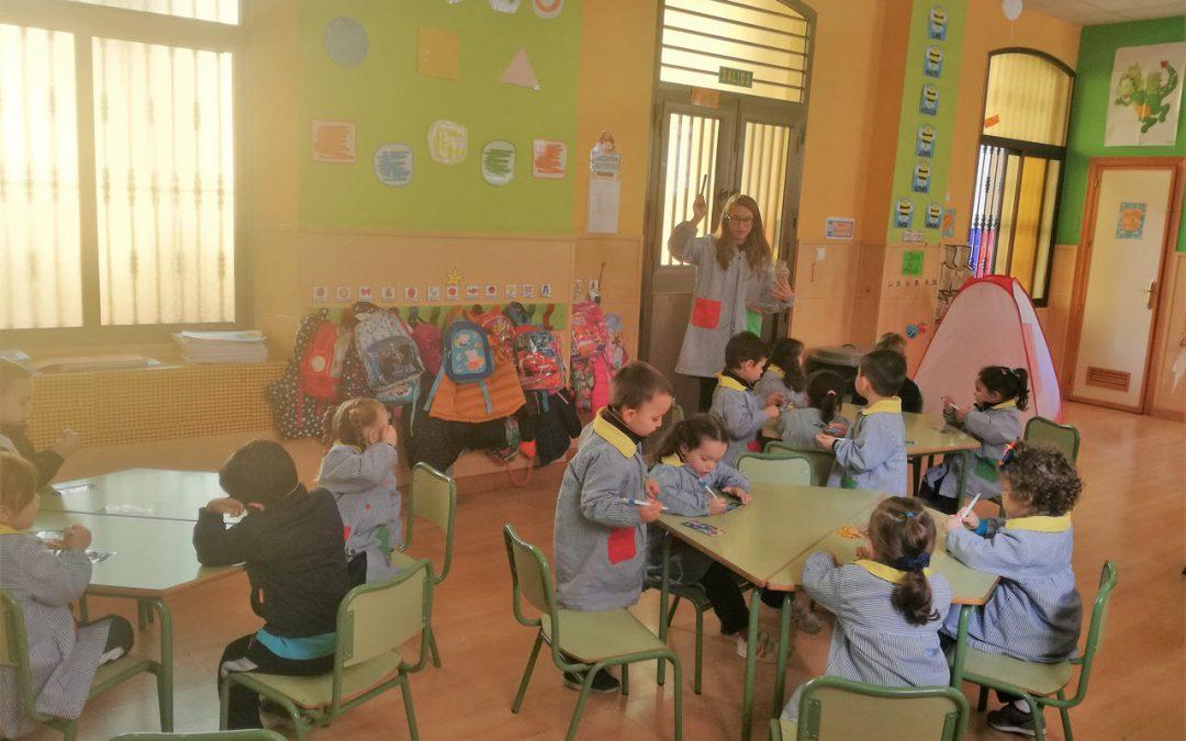 El alumnado de Infantil disfruta de las actividades en inglés