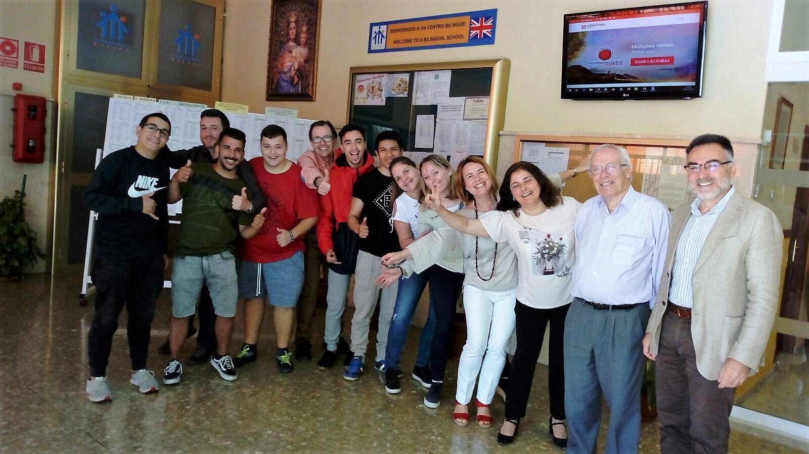 Nuestro alumnos Erasmus+ regresan de Italia