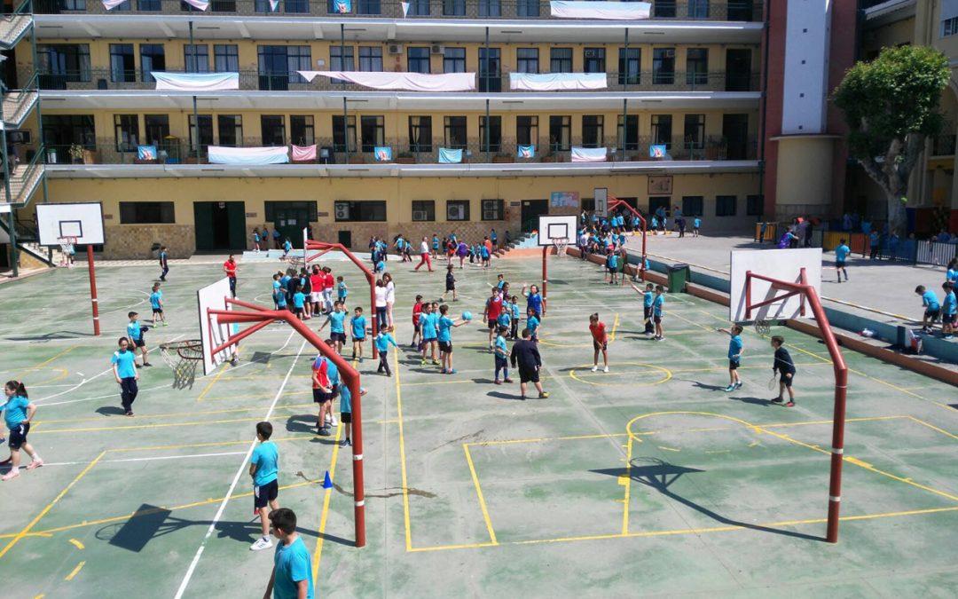 Sexto de EP organizó los juegos europeos para Primaria en el Día de Europa