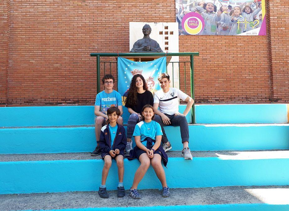 Cinco alumnos del centro finalistas en el concurso de matemáticas Pangea