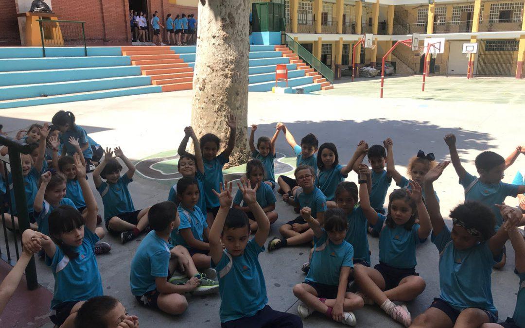 Primeros pasos de nuestros alumnos y alumnas de 5 años hacia la Primaria
