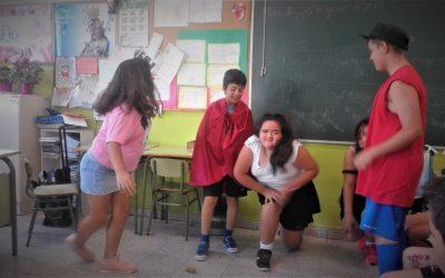 En 4º de Primaria disfrutan y aprenden con la realización de obras teatrales