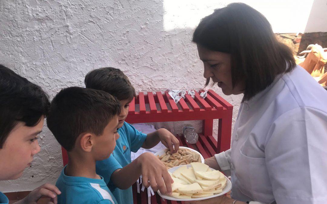 Primer ciclo de Primaria visita el Museo de la Cabra Malagueña