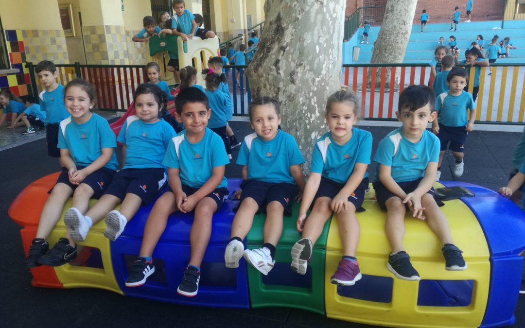 Las mágicas primeras semanas de los alumnos de E. Infantil