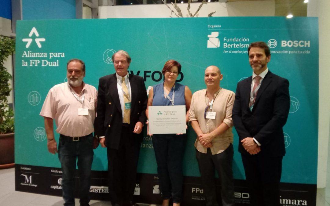 Salesianos Málaga participa en el IV Foro Alianza para la FP Dual