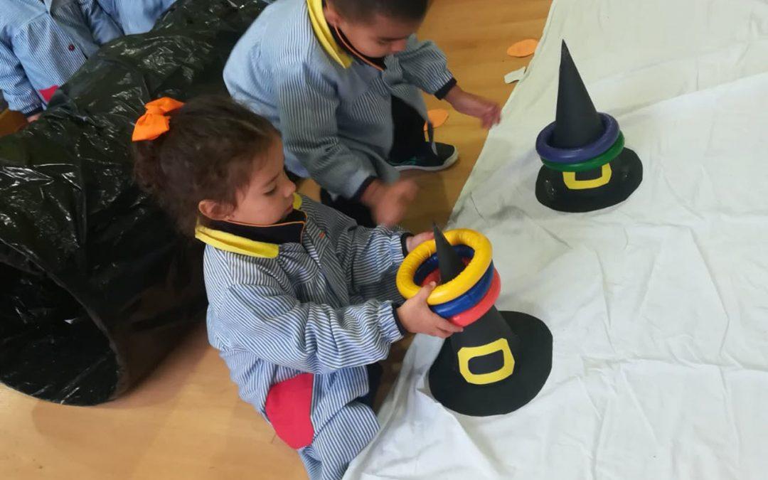 En Educación Infantil celebramos nuestro circuito terrorífico en inglés