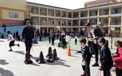FPB preparó el recreo temático en inglés para los más pequeños de Primaria