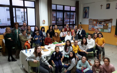 Fiesta de Navidad en 5º de Educación Primaria