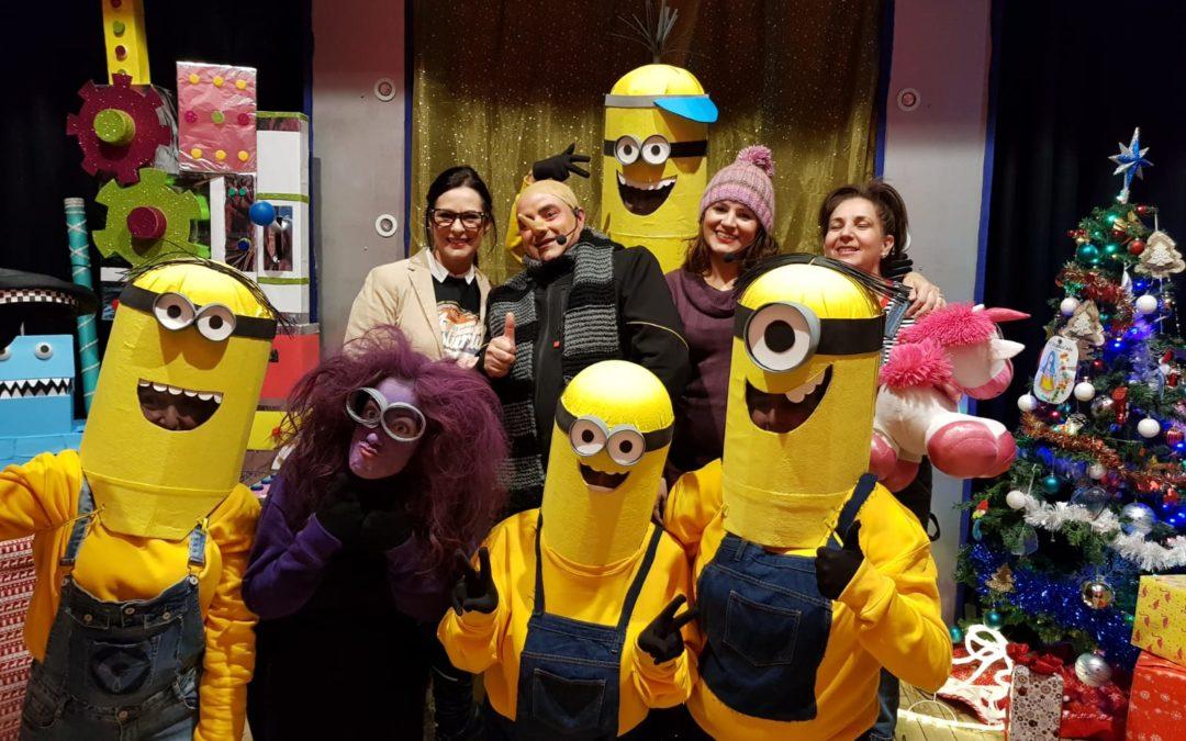 Gran éxito en la representación del teatro para familias