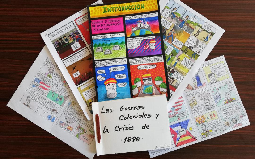 Bachillerato nos presenta la historia a través de los cómics