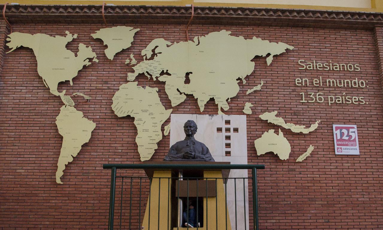 Inauguración del Mapamundi Salesiano