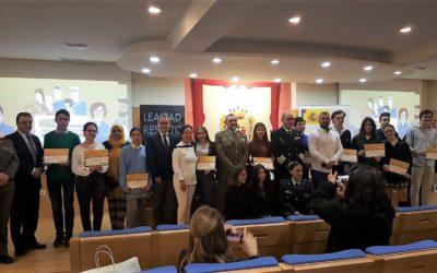 """Nuestro Colegio participa en el concurso escolar """"Carta a una militar española"""""""