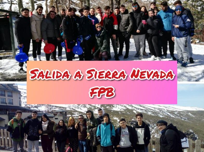Formación Profesional Básica visita Sierra Nevada