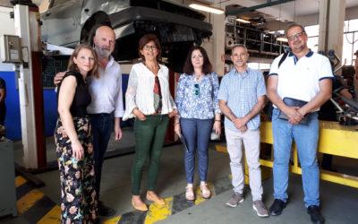 Firmado un acuerdo de colaboración con FEDAMA en el ámbito de la FP Dual de vehículos