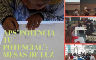 """1ºFPBE entrega la primera parte del Proyecto de Aprendizaje Servicio """"Potenciando tu potencial"""": Mesas de Luz"""