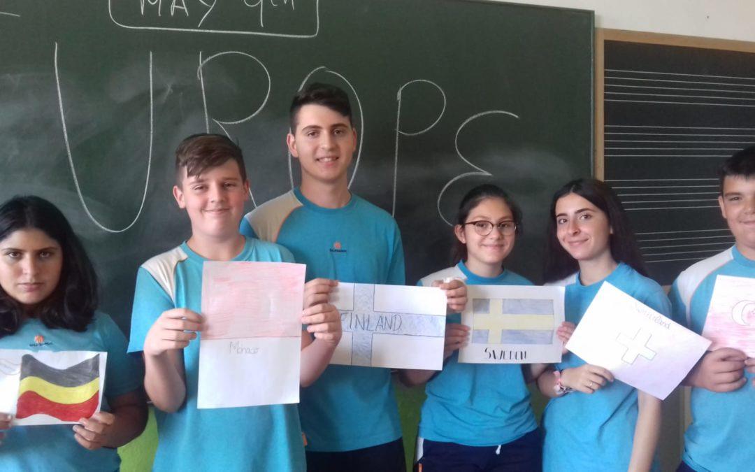 Nuestro Colegio celebra el día de Europa