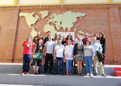 Equipo particpante en Erasmus+ e Inmersión Lingüística