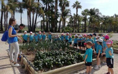 Los alumnos de infantil visitaron la granja escuela