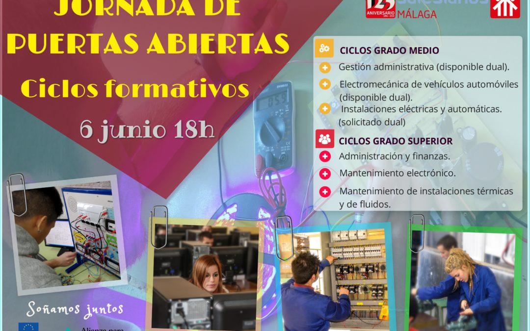 Jornada De Puertas Abiertas Para Ciclos Formativos Colegio