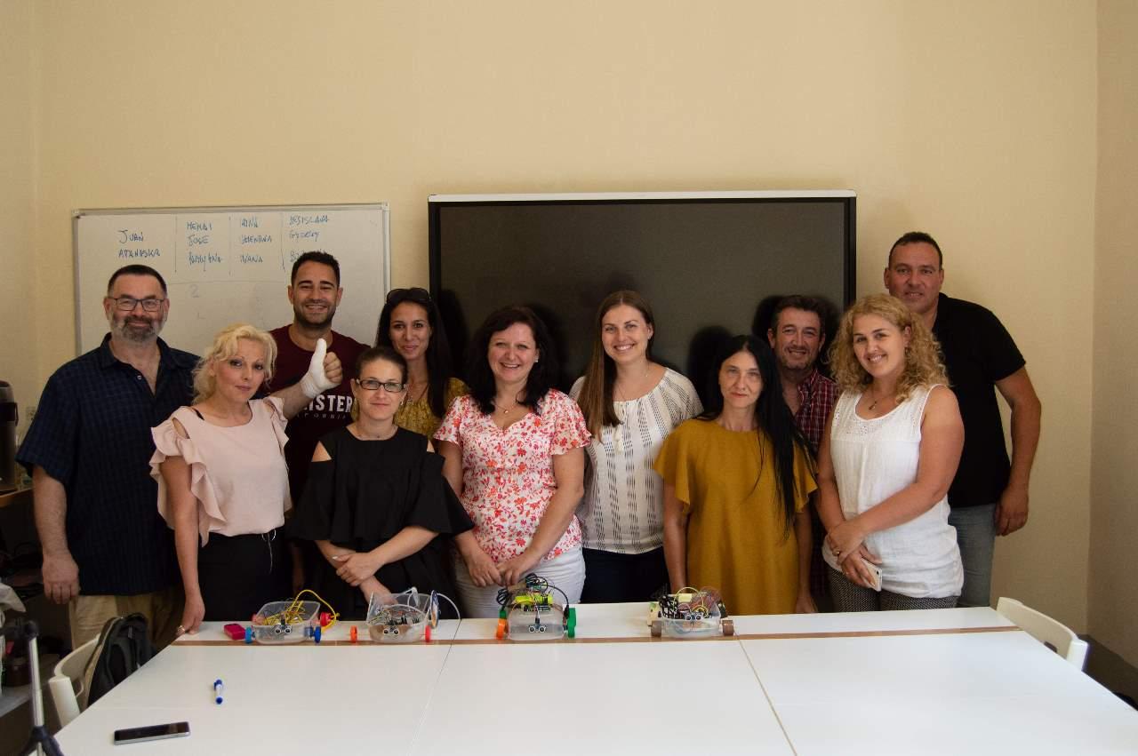 Innovando en robótica a través de Erasmus+