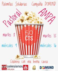 Palomitas Solidarias (AMPA). Campaña DOMUND.