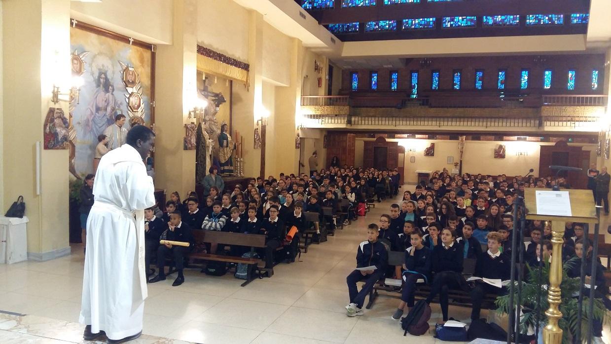 La experiencia en la semana de las misiones en el Colegio Salesiano