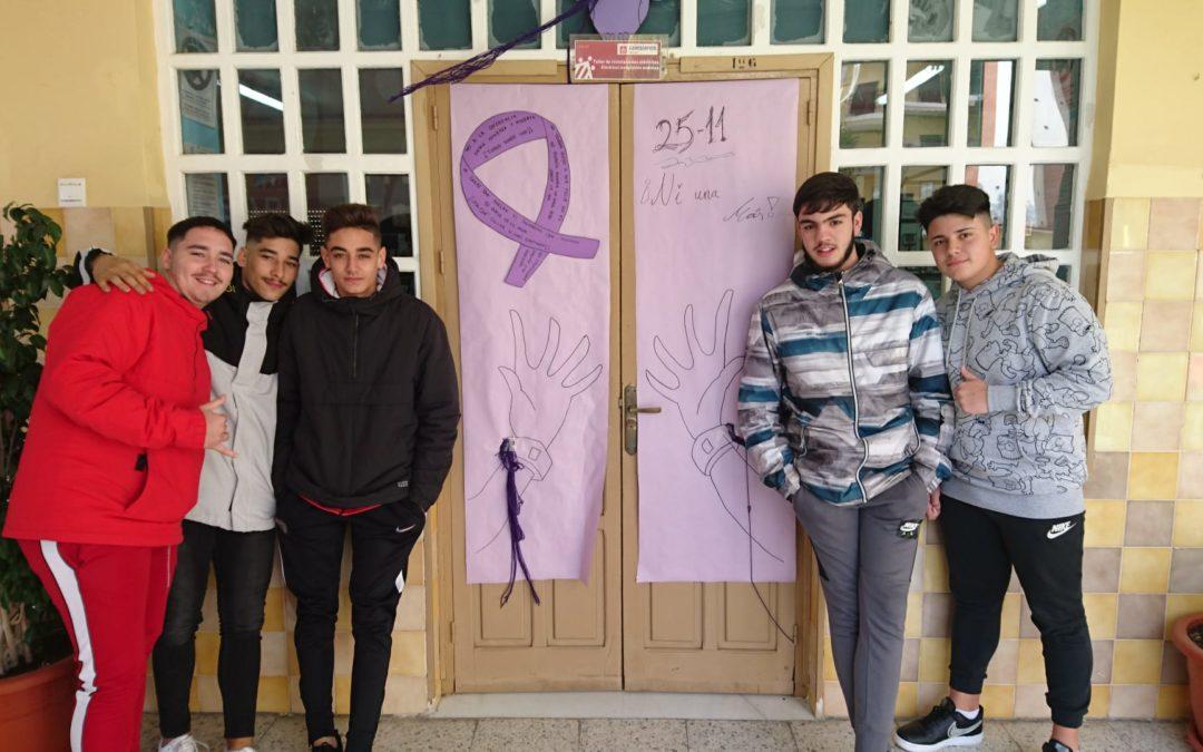 Nuestro alumnado de FPB reflexiona sobre la violencia de género
