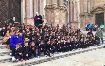 Infantil y Primaria visitan belenes en nuestra ciudad