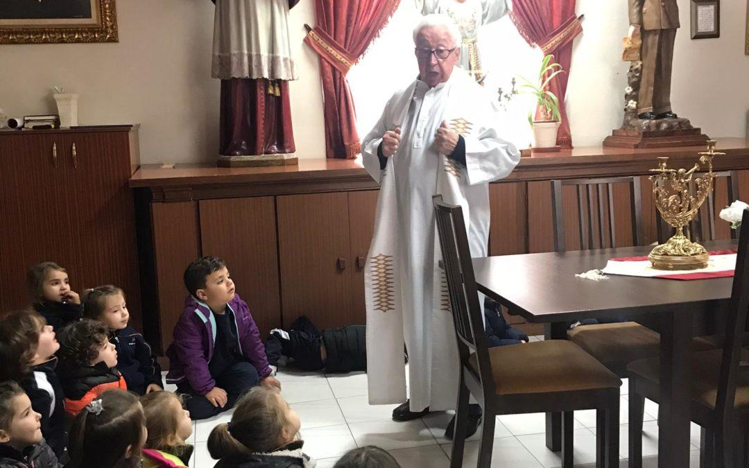 Infantil visita la Sacristía