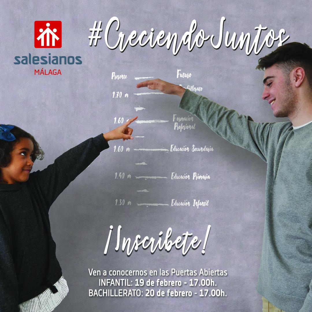 ESCOLARIZACIÓN: admisión de solicitudes para Infantil, Primaria, ESO y Bachillerato.