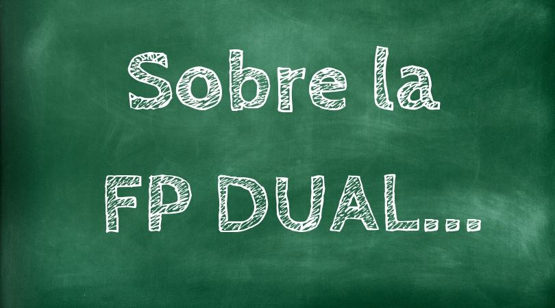 Información para alumnos de FP Dual