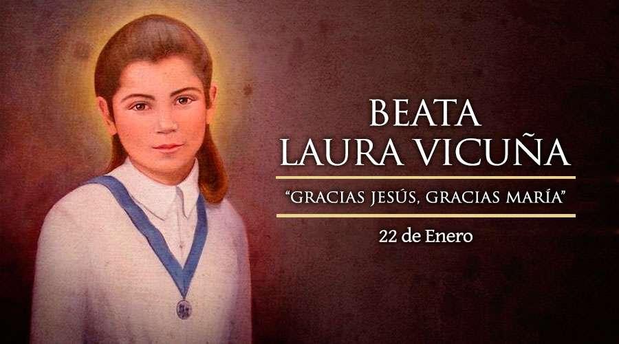 La Familia Salesiana celebra hoy el día de Laura Vicuña