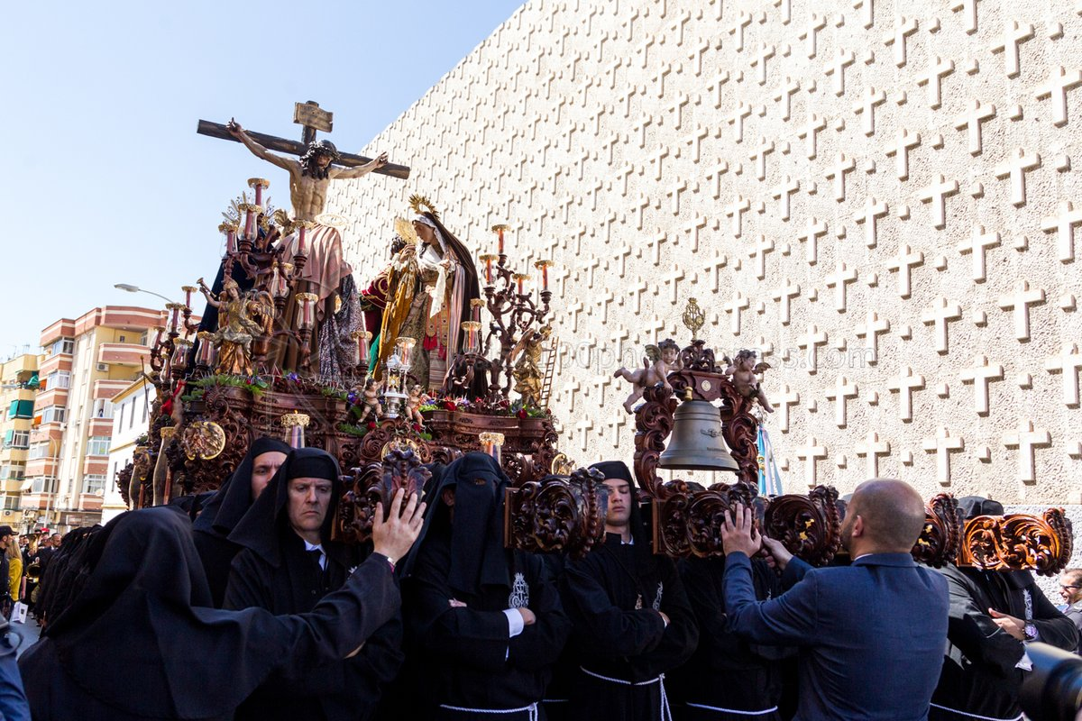 Traslado de los Titulares de la Hermandad Salesiana de Málaga