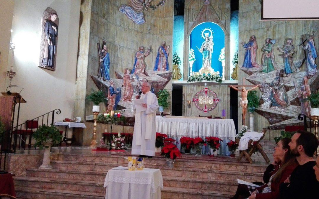 Saludos cordiales a toda la Familia salesiana de Málaga, devotos y amigos de María Auxiliadora