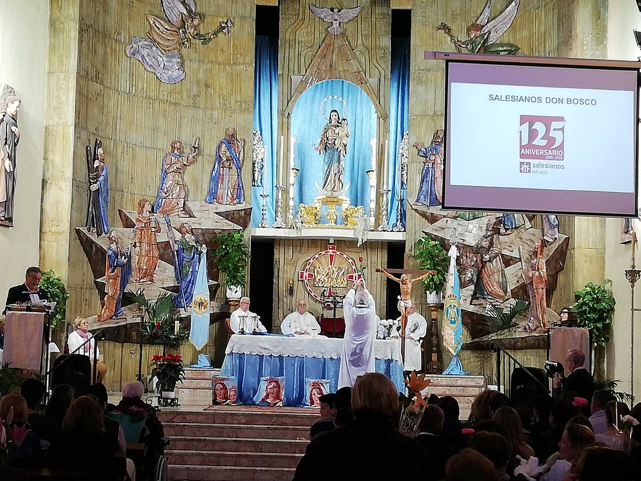 Acto de apertura del 125 aniversario de la presencia Salesiana en Málaga
