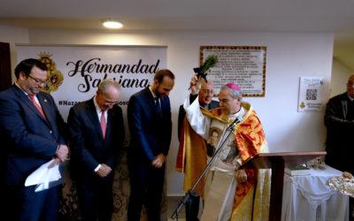 El obispo de Málaga bendice nuestra nueva casa hermandad