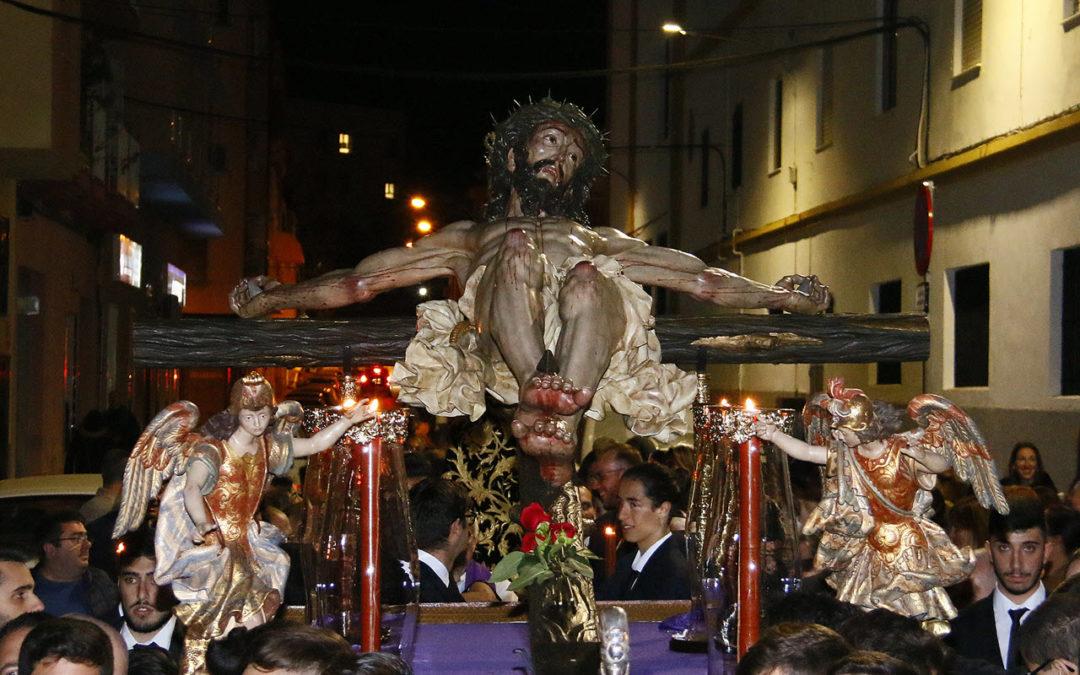 La Familia Salesiana de Málaga celebró el Vía Crucis en el año del 125 aniversario