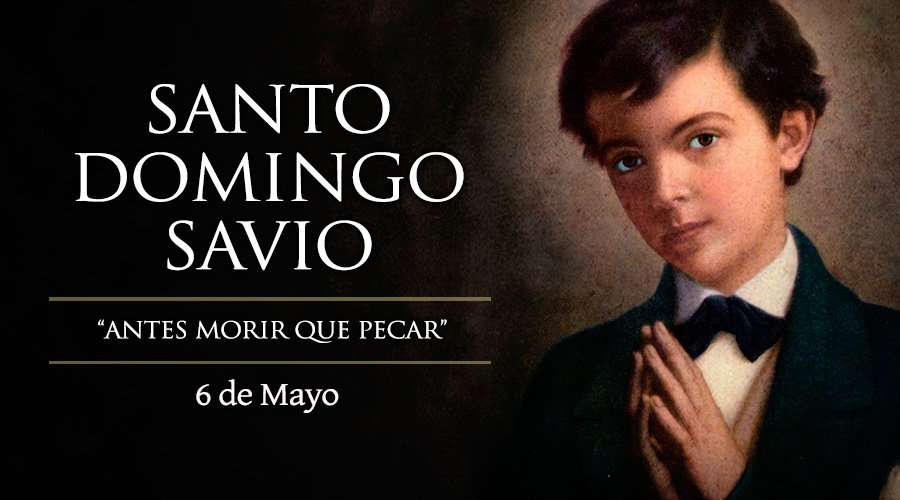 Hoy la Familia Salesiana celebra a Santo Domingo Savio